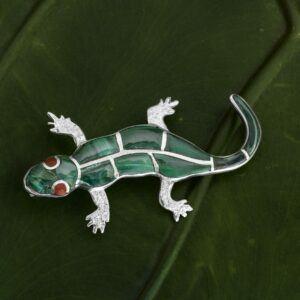 Broche Salamandra Ref BR10-004
