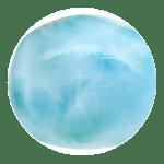 polished larimar gem blue pectolite p4f3nlgredoda